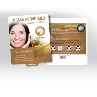 Maska ACTIVE GOLD